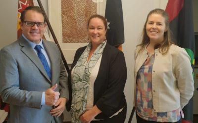 AMRRIC Visits Canberra
